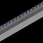 Rozdzielacz SH na 8 obiegów, 3,5 m