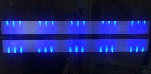 Kominki wolnostojące - LEDy