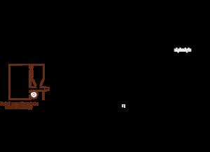 Ogrzewanie pelletem, kotłem gazowym i kominkiem w układzie otwartym